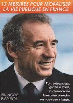 Recto du referendum de François BAYROU