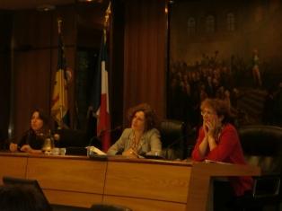 Le 10 octobre 2011 au Conseil général de l'Isère « Parité et politique »