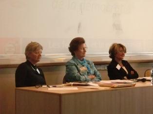 Le 15 octobre 2011 à l'IEP de Lyon : « Pas de gouvernance démocratique sans les femmes » à l'initiative de l'association « Regards de femmes »