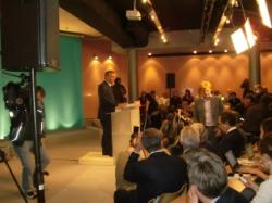 François Bayrou pendant la conférence de presse