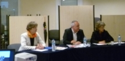 Lundi 21 mai 2012 – MFR de Moirans – Les Associations familiales interpellent les candidats aux élections législatives.