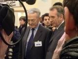 Jean Artuis et François Bayrou