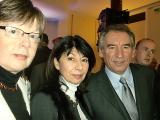 Béatrice Doutriaux, Michèle Cedrin, François Bayrou