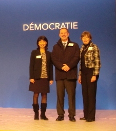 Michèle CEDRIN, Pierre GUERIN, Béatrice DOUTRIAUX