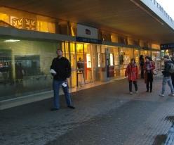A la gare de bon matin