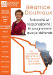 Page 1 du programme de Béatrice DOUTRIAUX
