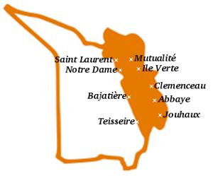 Quartiers du canton 1